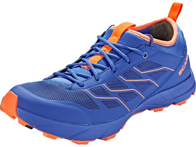 Scarpa Atom SL GTX Chaussures, turkish sea/orange fluo